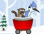 Regular Show Kar Yarışı